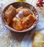 Vegetarian cabbage rolls with buckwheat